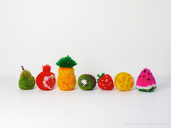 yarn pom pom animals - Google Search