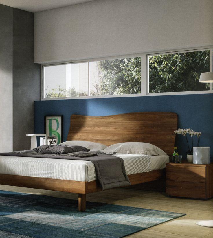 Oltre 25 fantastiche idee su camera da letto in rovere su - Testiera letto matrimoniale ...