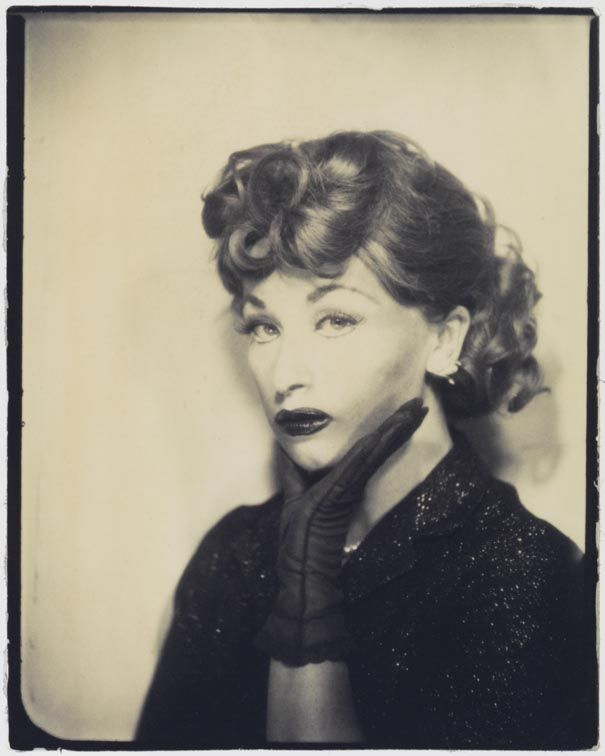 """Cindy Sherman - Senza titolo Lucy, 1975 (stampata nel 2001) - Mart, Collezione M. Trevisan - """"La Magnifica Ossessione"""" www.mart.tn.it/magnificaossessione"""