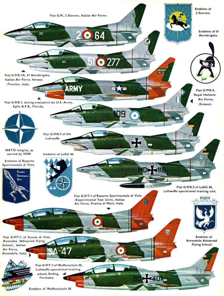 Fiat G.91 (119+) Page 11-960