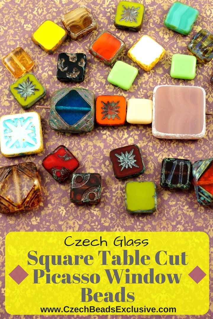 �Czech Glass Square Table Cut Picasso Window Beads  Different Colors, Shapes & Sizes! - Buy now with discount!  Hurry up - sold out very fast! www.CzechBeadsExclusive.com/+table+cut+square SAVE them! ??Lowest price from manufacturer! Get free gift! 1 shipping costs - unlimited order quantity!  Worldwide super fast ?? shipping with tracking number! Get high wholesale discounts! Sold with  at http://www.CzechBeadsExclusive.com #CzechBeadsExclusive #czechbeads #bead #beaded #beading…