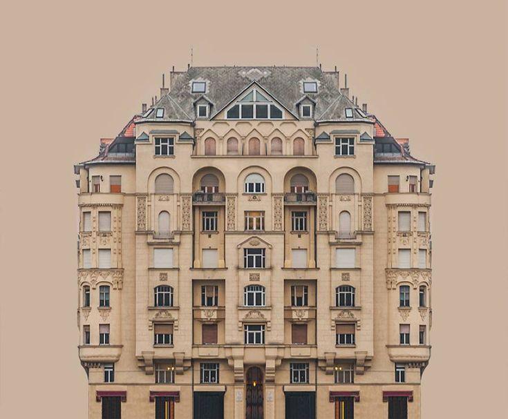 Architectural Symmetry of the River Danube Banks – Fubiz Media