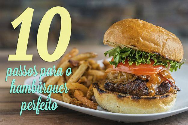 Isto é o que você precisa para fazer um hambúrguer imbatível em casa