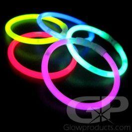8 Inch Glow Stick Bracelets