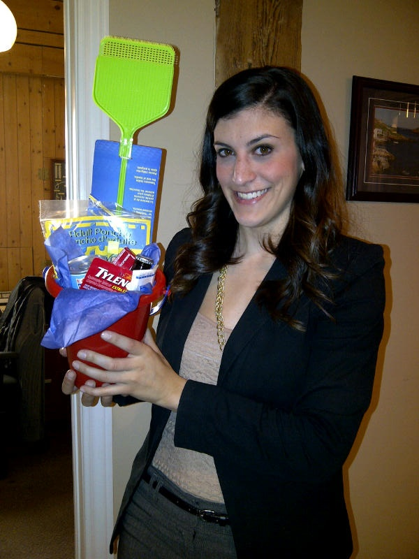 Victoria Day Survival Kit.  Must have!  Tylenol, Beer, Vienna Sausage and a fly swatter.  Doesn't get any better!