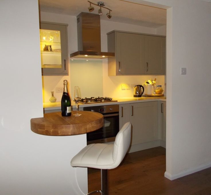 Small Breakfast Bar For A Small House Small House Kitchen Ideas