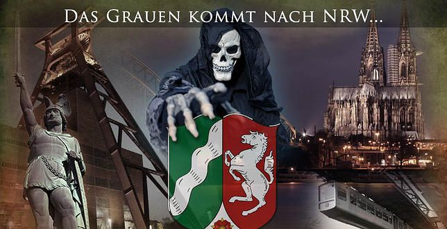 Deutschlands größtes Grusellabyrinth | NEWS