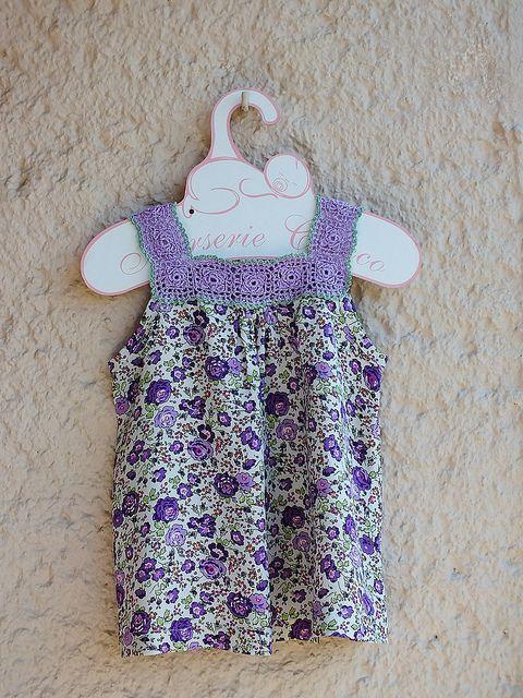 Crochet Yoke Dress by CananZembil, via Flickr