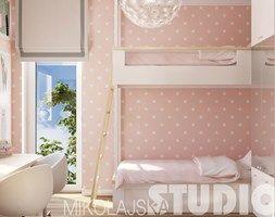 pokój dziecięcy z pietrowym łóżkiem