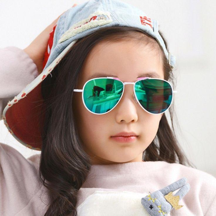 Cute Mirror Baby Frame UV400 Pilot Fashion Eyewear for Kids. Order Here -> http://lnk.al/5I1O #sunglasses #fashion #style #women #summer #sun #win #glasses #me #selfie #eyewear
