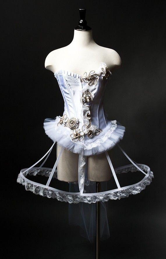 burlesque circus corset dress