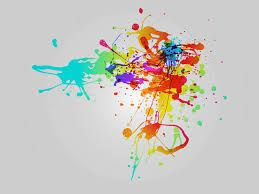 Image result for paint splatter tattoos pictures