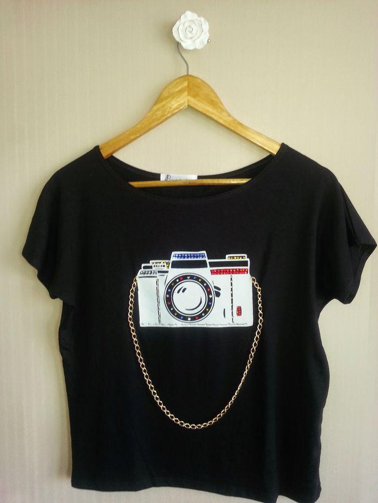 Camiseta Miss Photographer - www.missbeatriz.com.br