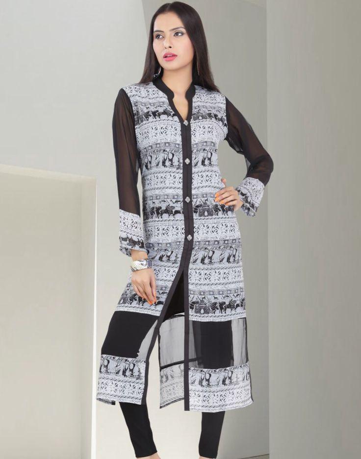 #Dezino #Wintercollection2015 #Newcollection #Trend #Kurties  #Indianfashion #Fashion4u #Loveforfashion #Partywear