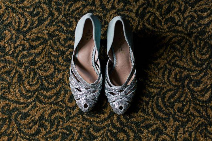Pretty Flamingo Photography. Vintage Ballarat Wedding. Anthropology Bridal Shoes