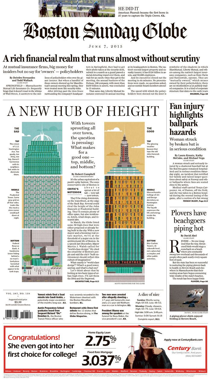 72 best boston globe page one images on pinterest balloon the boston globe for june 7 2015 via todays front pages newseum nvjuhfo Choice Image