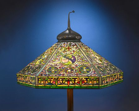 Tiffany lamp circa perfect for practically any room especially in the most unexpected