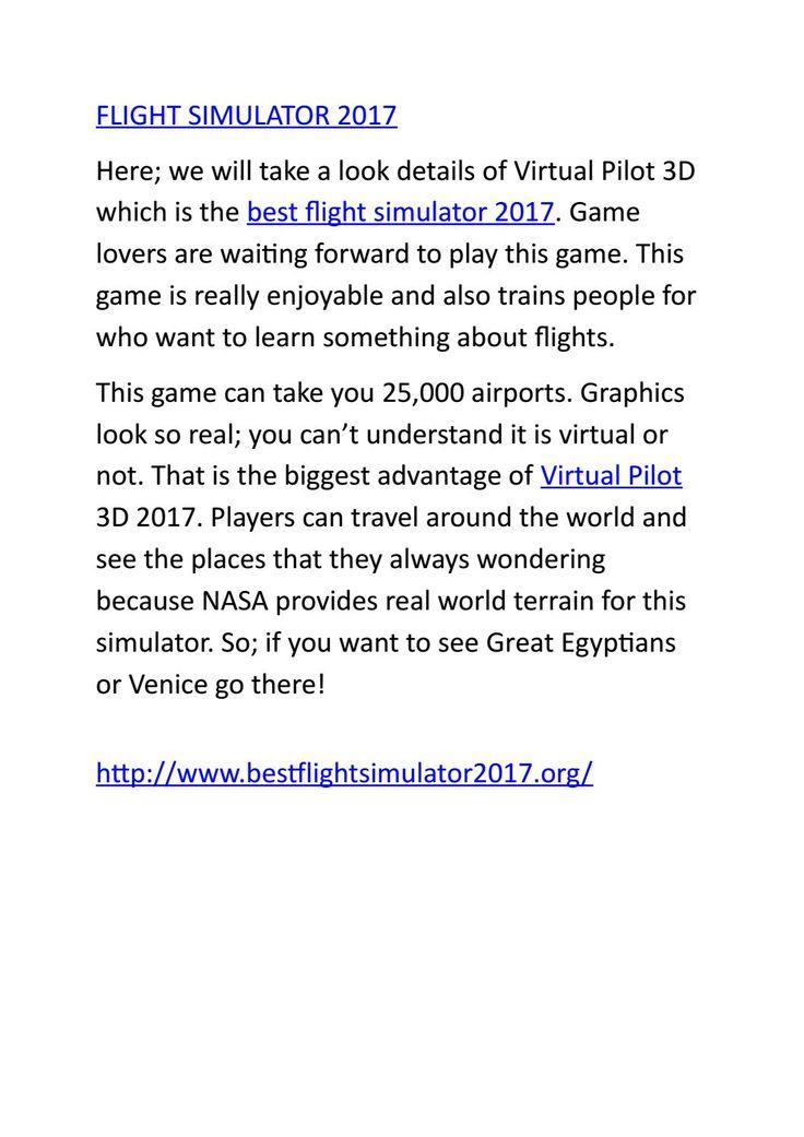 13 best flight simulator 2017 images on pinterest best flights best flight simulators fandeluxe Image collections