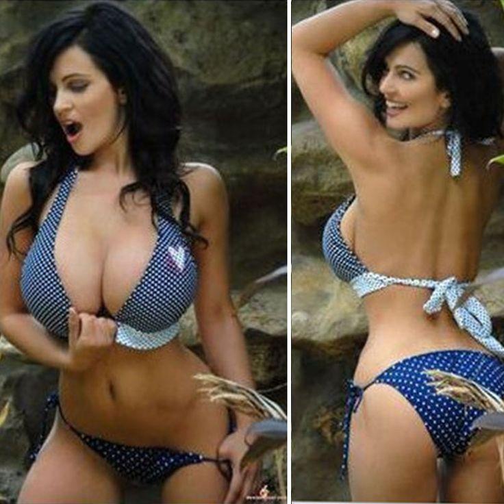 Polka Dot Bikini 2016 New Big Bust Swimwear Large Bust Swimsuits Women's Swimming Suits Bathing Suits Hot Brazilian Biquinis