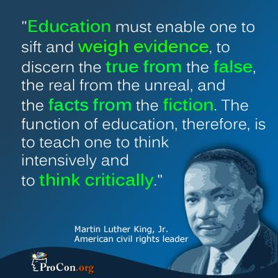 Image result for critical thinking as the best education
