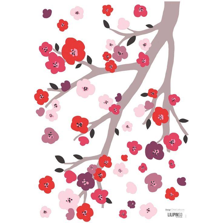 les 25 meilleures idees de la categorie chambre en fleurs With affiche chambre bébé avec fleur de cerisier parfum