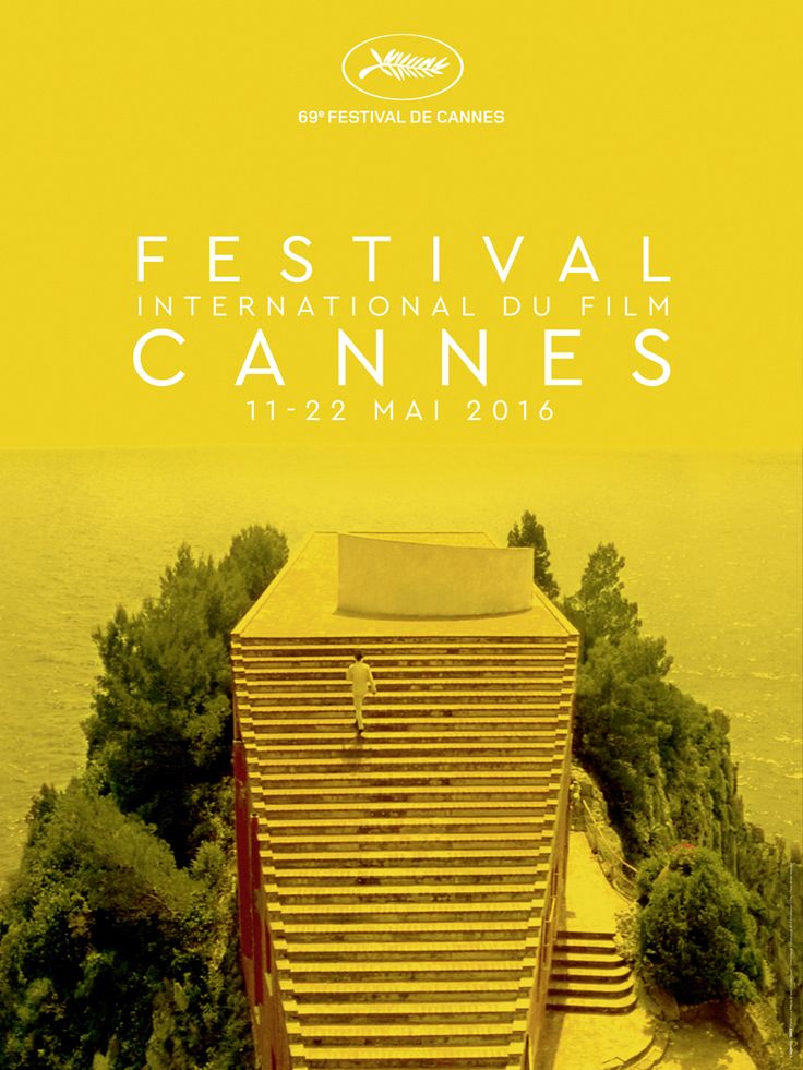 El cartel oficial del 69º Festival de Cannes - Festival de Cannes 2016…