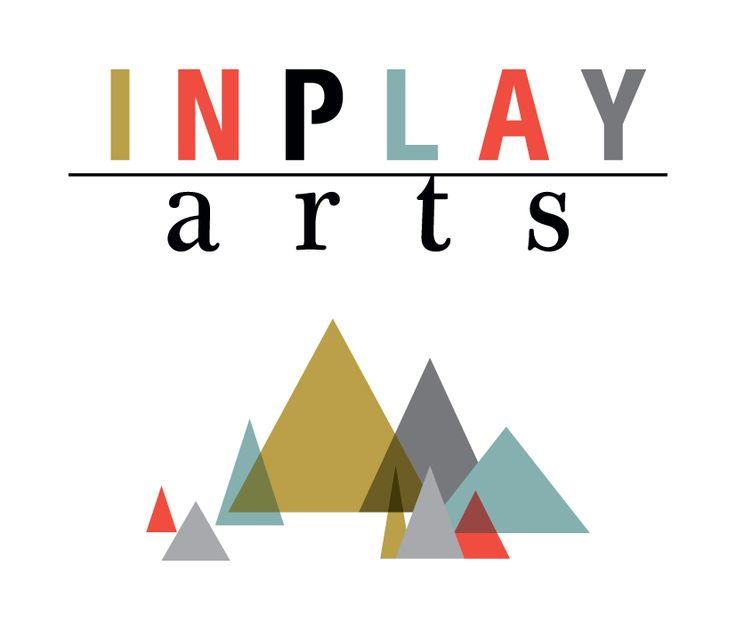 Inplay Arts - logo designed by www.inky.net.au