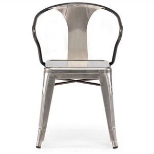 Helix Dining Chair in Gunmetal