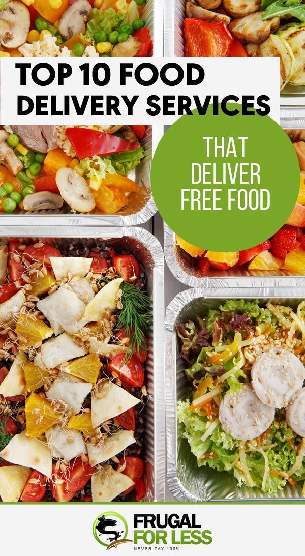 10 Ways On How To Get Free Food Delivered To You In 2020 Free