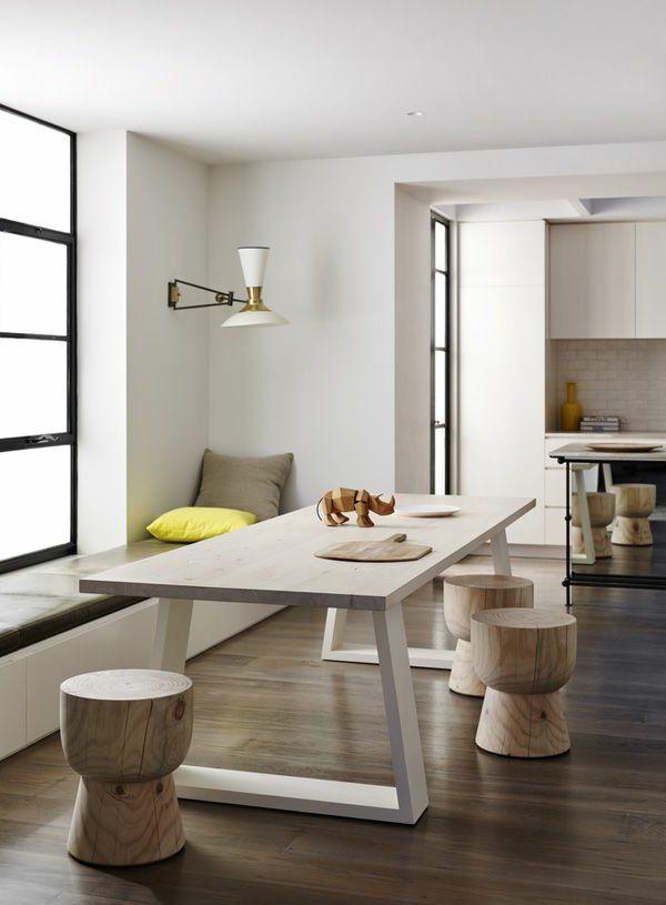 die besten 17 ideen zu esszimmertisch auf pinterest salon st hle liege st hle und wohn. Black Bedroom Furniture Sets. Home Design Ideas