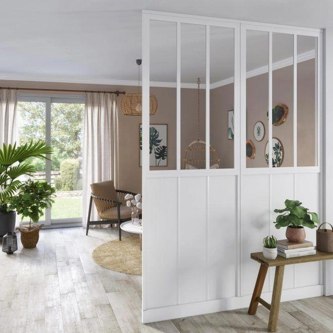 Verriere Interieure 30 Idees Pour Toute La Maison Cloison Separation Cloison Et Cloison Amovible