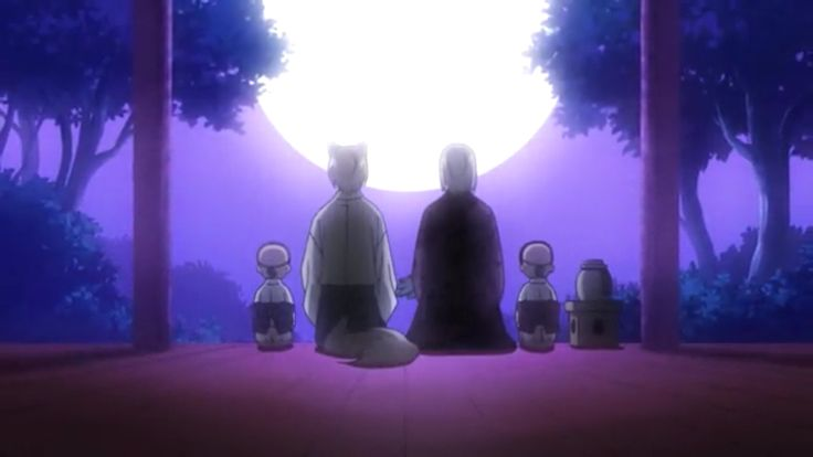 Onikiri, Tomoe, Mikage, and Kotetsu