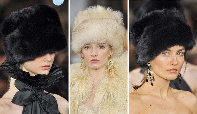 Trendy Hats for Winter 2013-2014
