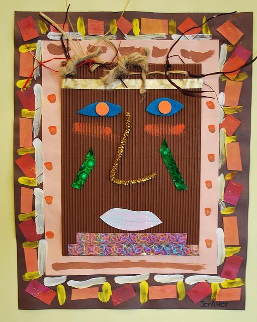 African mask by paintedpaper, via Flickr