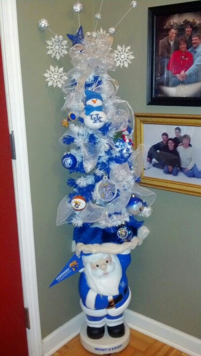 Best KY Wildcat tree ever | Christmas | Kentucky wildcats, Kentucky,  Kentucky basketball - Best KY Wildcat Tree Ever Christmas Kentucky Wildcats, Kentucky