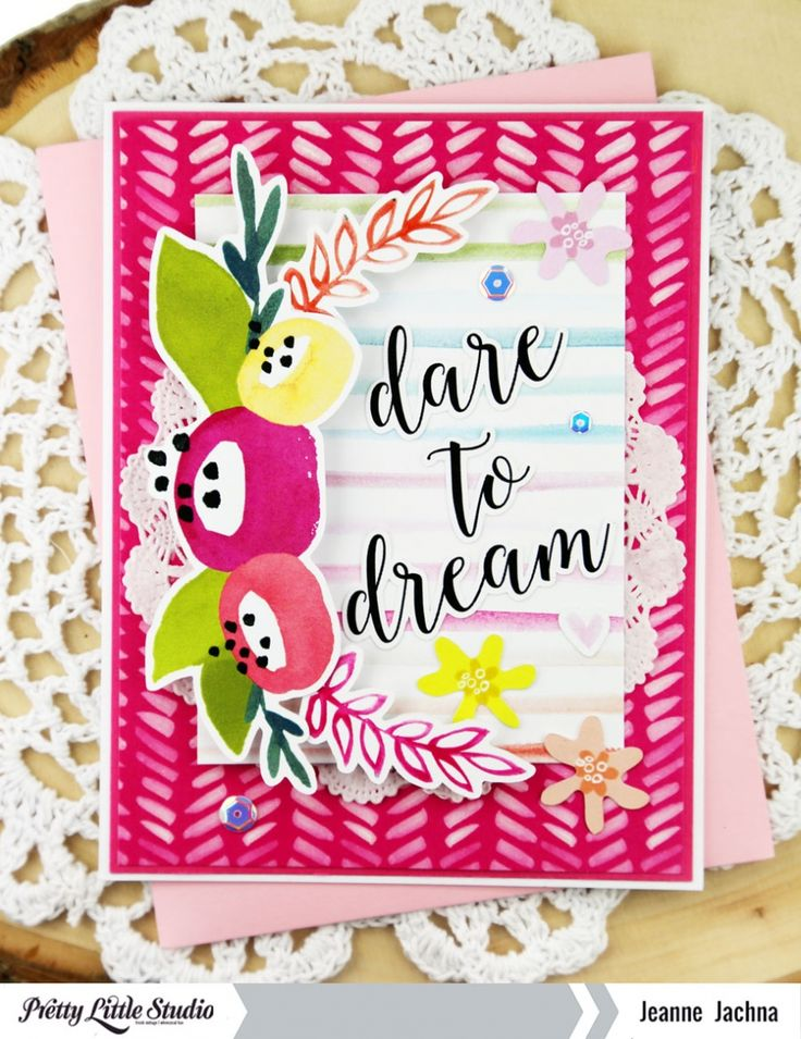 Card | Dare to Dream » Pretty Little Studio