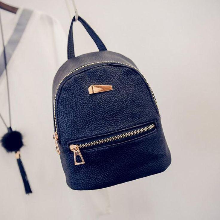 $5.34 (Buy here: https://alitems.com/g/1e8d114494ebda23ff8b16525dc3e8/?i=5&ulp=https%3A%2F%2Fwww.aliexpress.com%2Fitem%2FRucksack-Fashion-Women-Backpack-For-Girls-2016-Preppy-Style-Backpacks-Female-Fashion-Girls-Bags-Ladies-Black%2F32782051889.html ) Rucksack Fashion Women Backpack For Girls 2016 Preppy Style Backpacks Female Fashion Girls Bags Ladies Black Backpack Dec14 for just $5.34