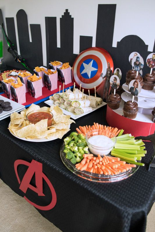 Avengers Party Ideas for the little Avengers fan.