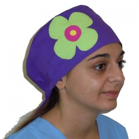 Handmade scrub hat. This scrub is suitable for all medical or hospital purposes.