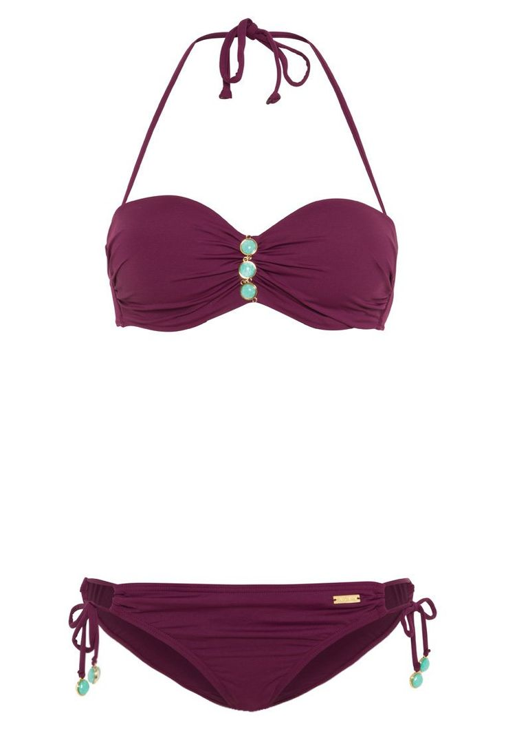 LASCANA Bikini bordeaux Bekleidung bei Zalando.de | Material Oberstoff ...