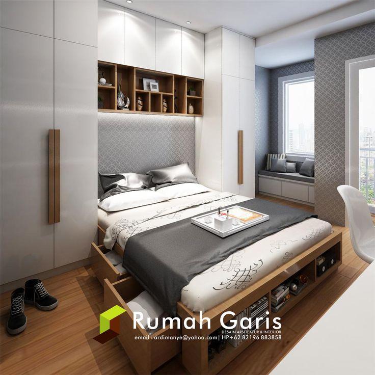 Desain Kamar Master Bedroom Interior Apartemen Jasarender Renderonline Render3d Rendersketchup Kitchen