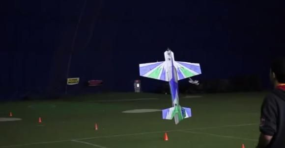 Collective Pitch Thrust Vectoring on a RC Plane