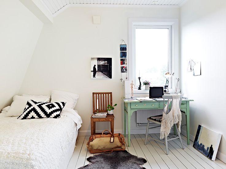 Black, white, bits of wood & colour