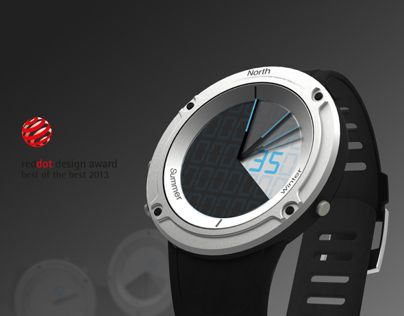Closed Watch : A watch for the hikers and climbers