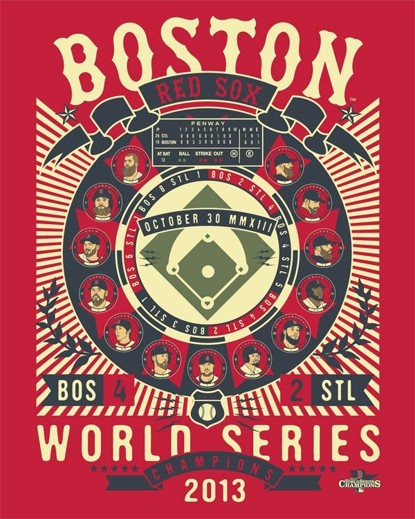 Red Sox World Series Champions 2013