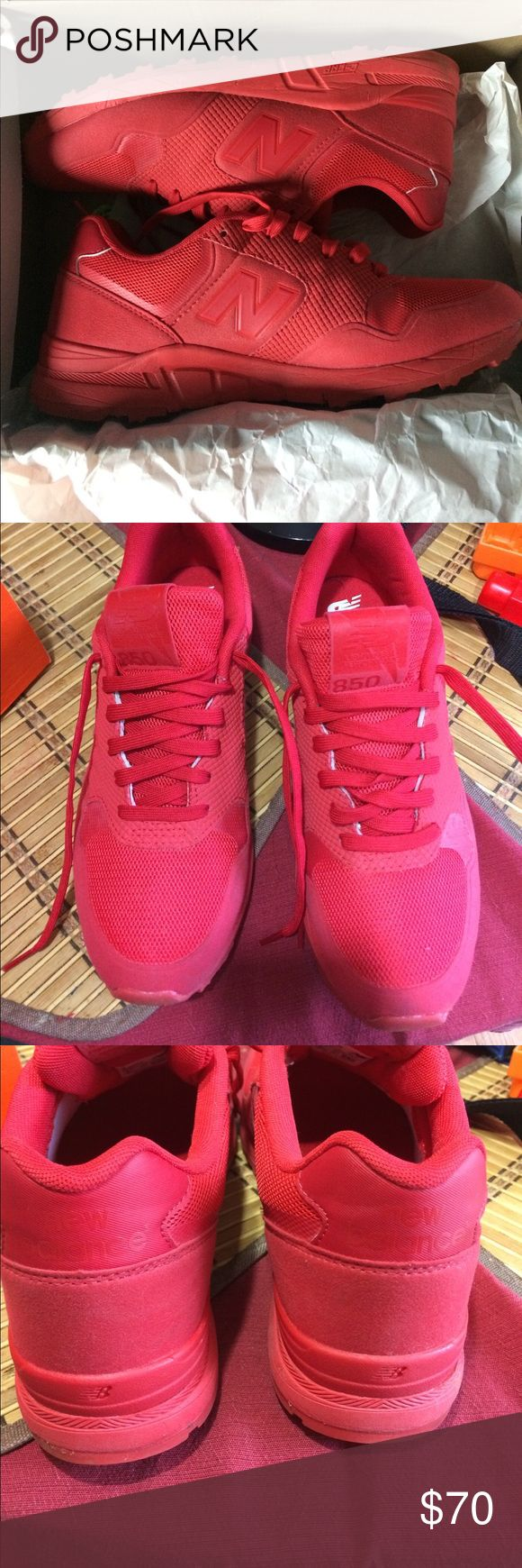 New Balance 850 Worn three times, and no damage whatsoever. Any offers will be considered. New Balance Shoes Sneakers