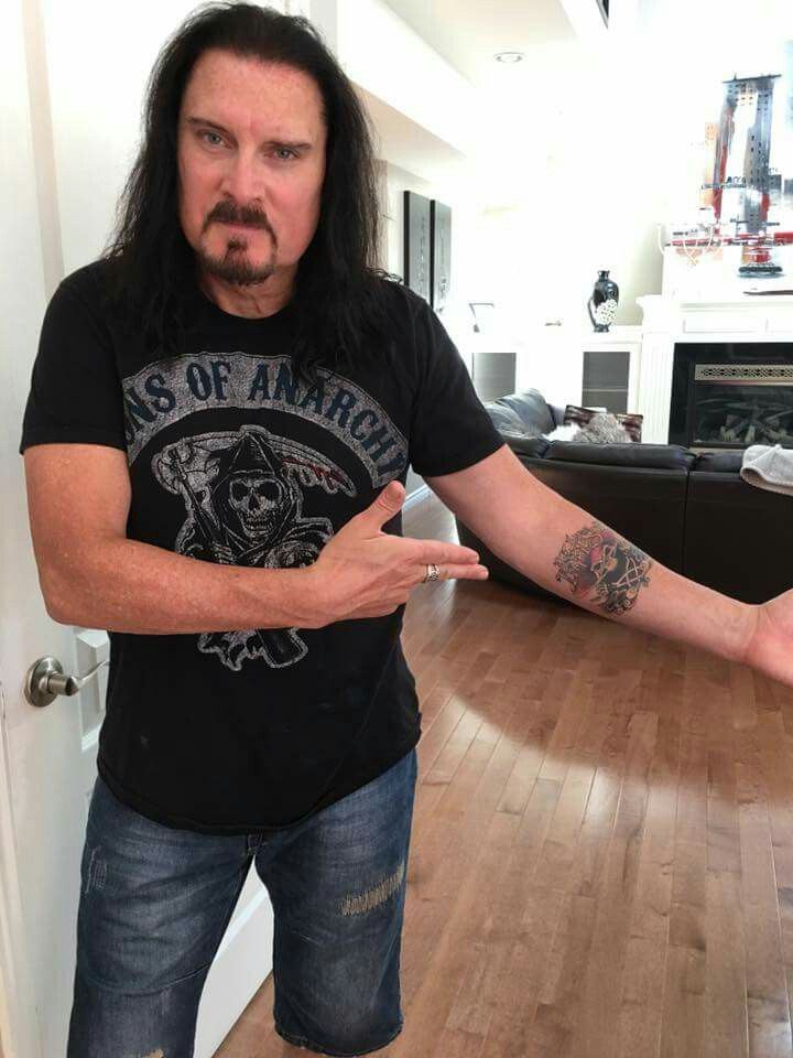 James Lebrie new tattoo