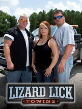 "Lizard Lick Towing,,,, love this show! ""does a one legged duck swim in a circle!"" http://www.verizon.com/home/fiosquantumtv"