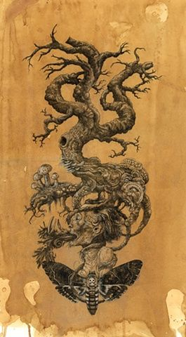 Mister Beaudry's Illustrations.     Tree of Death 2012