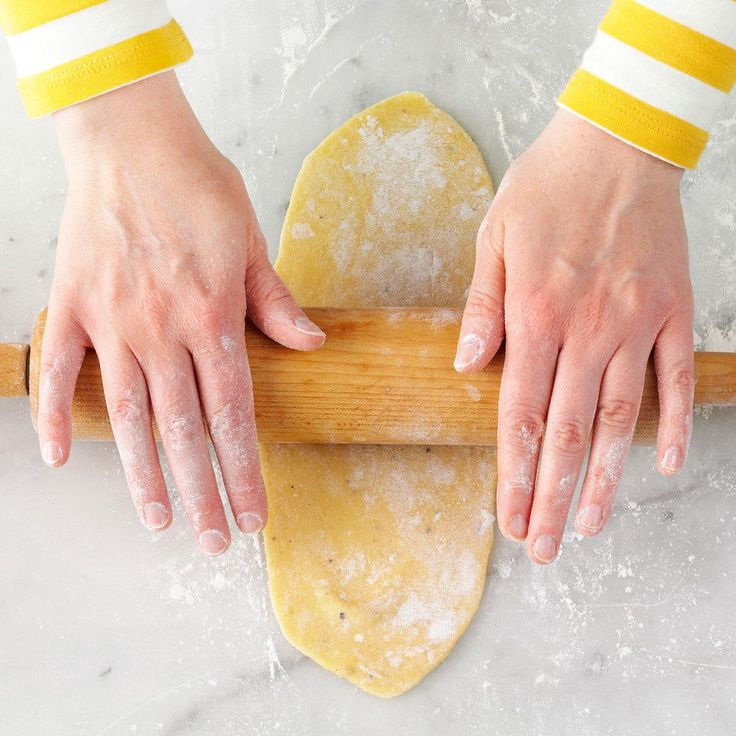 Homemade Pasta Dough Recipe -Go for it. Once you try homemade pasta, you're hooked. —Kathryn Conrad, Milwaukee, Wisconsin